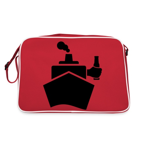 King of the boat - Retro Tasche