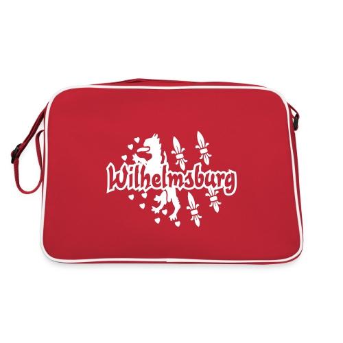 Wilhelmsburg-Print - Retro Tasche