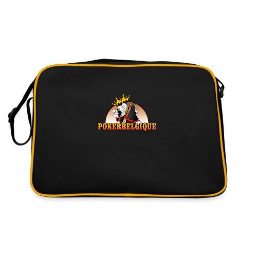 Logo Poker Belgique - Sac Retro