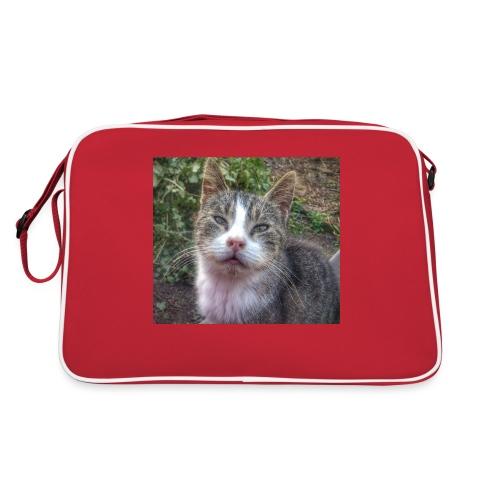 Katze Max - Retro Tasche