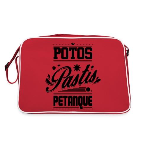 POTOS PASTIS PETANQUE - Sac Retro