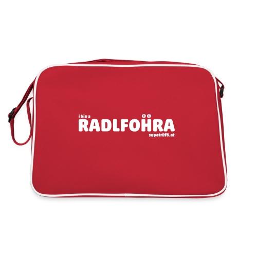 supatrüfö radlfohra - Retro Tasche