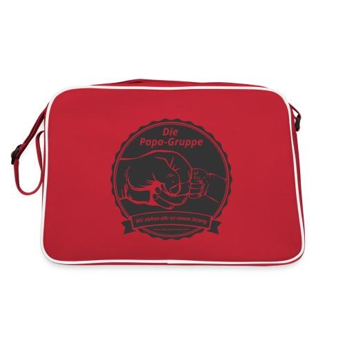 R Logo Papa Gruppe - Retro Tasche