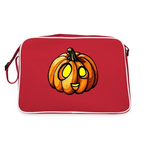 Pumpkin Halloween watercolor scribblesirii - Retrolaukku
