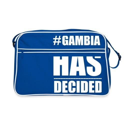GAMBIA_HAS_DECIDED - Retro Bag