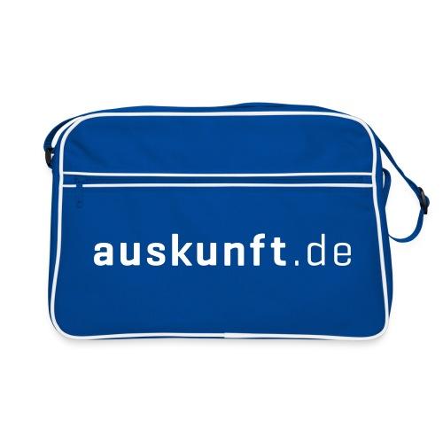 A de Blue - Retro Tasche