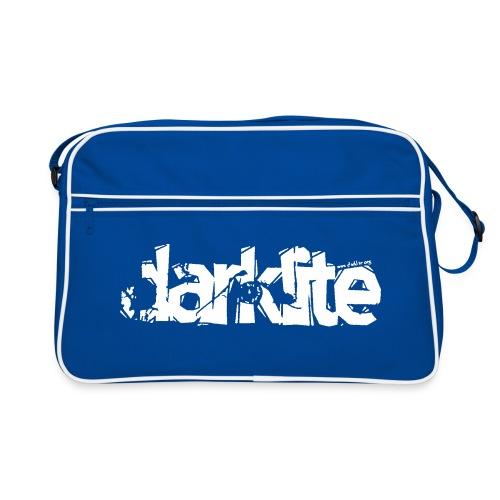darklite logo white - Retro Bag