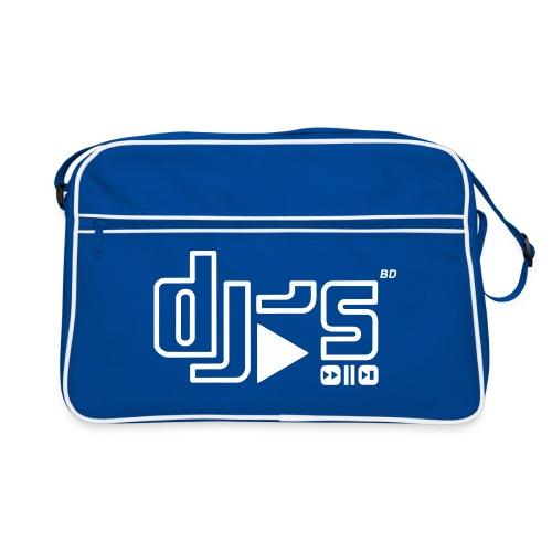 BD DJS Logo - Retro Tasche