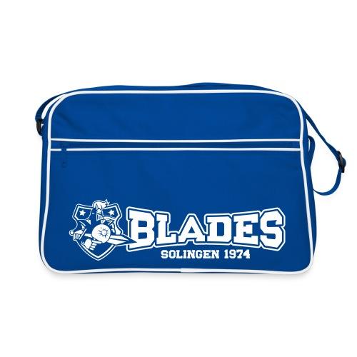 Logo Blades Quer - Retro Tasche