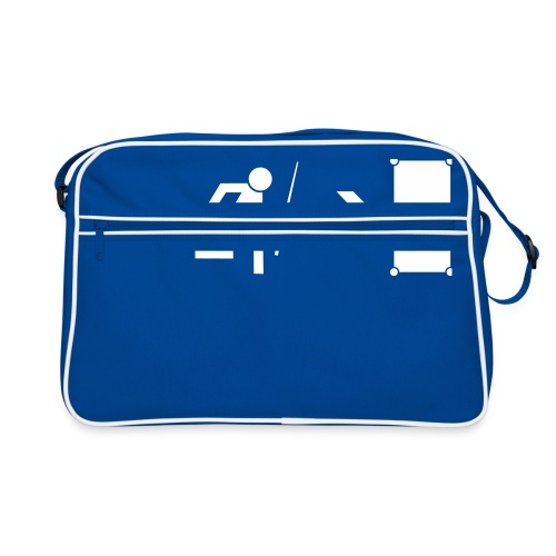 Emergency Exit Billard - Retro Tasche