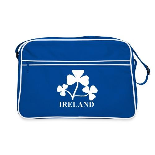 Ireland Shamrock white7aHighRes png - Retro Bag