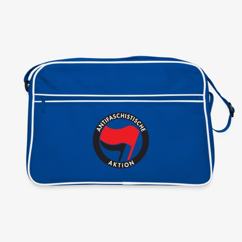 Atnifaschistische Action - Antifa Logo - Retro Bag