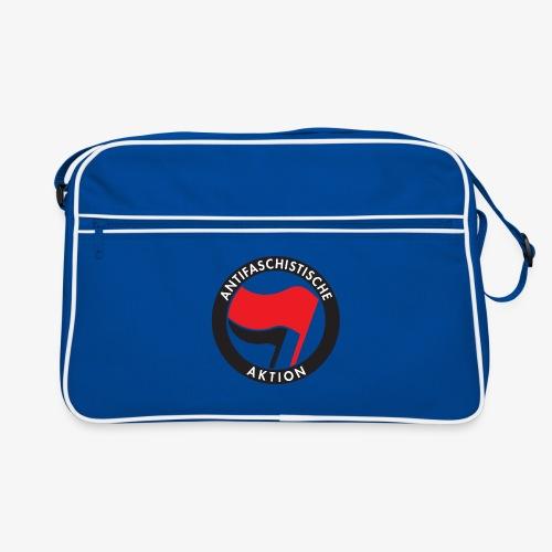Atnifaschistische Action - Antifa Logo - Retro Bag