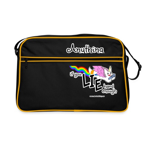 Anything Is Possible if you lie hard enough - Retro Bag