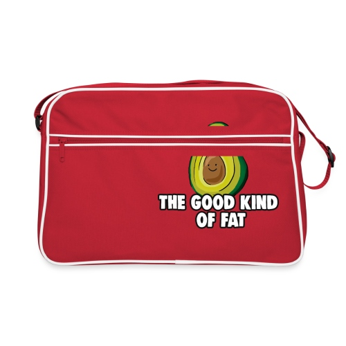 Avocado: The Good Kind of Fat - Retro Bag