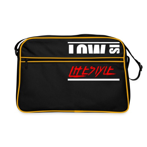 Low is a Lifestyle - Retro Tasche
