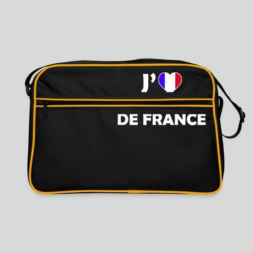 J'aime L'équipe de France (B) - Sac Retro