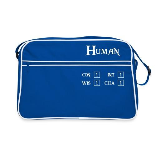 Level 1 Human - Wit - Retro-tas