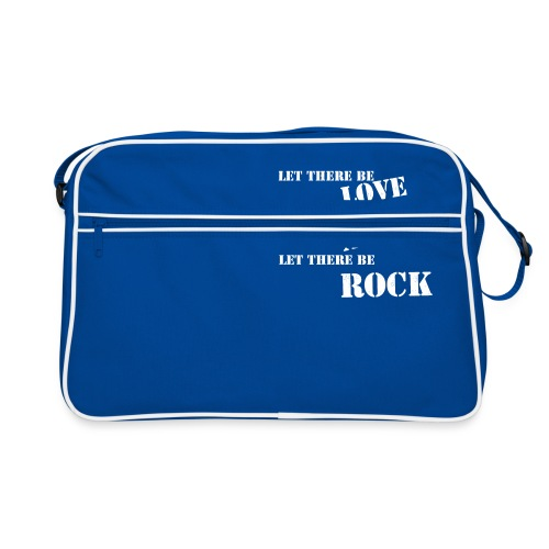 Love Anger Rock - Retro Bag