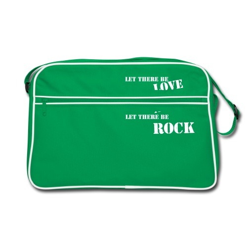 Love Anger Rock - Retro Bag