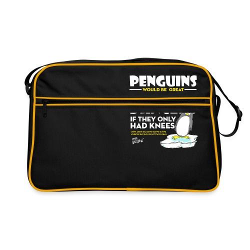 Penguins would be great dancers - Retroväska