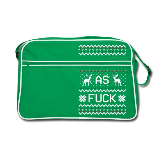 Christmas Jumper Safe AF - Retro Bag