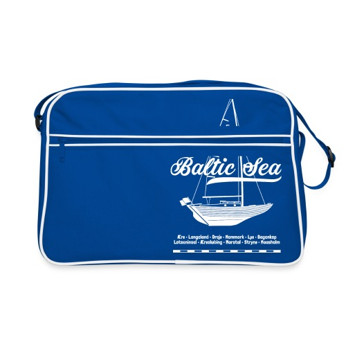 Baltic Sea Folkeboot - Retro Tasche