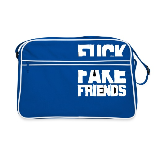 FUCK FAKE FRIENDS - Torba retro