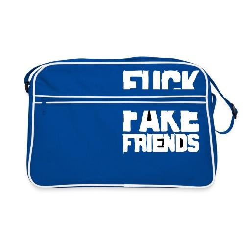 FUCK FAKE FRIENDS - Torba retro
