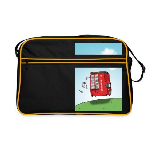 Feuerwehrwagen - Retro Tasche