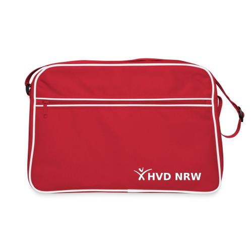 hvd nrw logo weiss transparent komplett - Retro Tasche