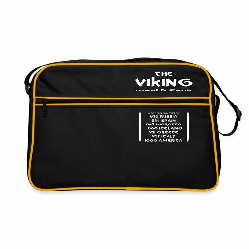 Viking world tour - Bandolera retro