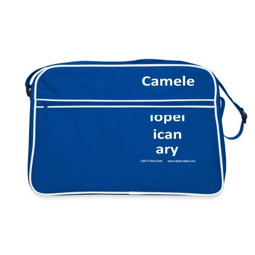 camelepha 5lines white - Retro Bag