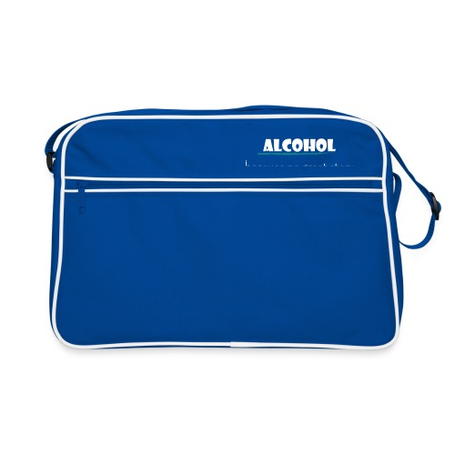 alcohol salad - Retro Tasche