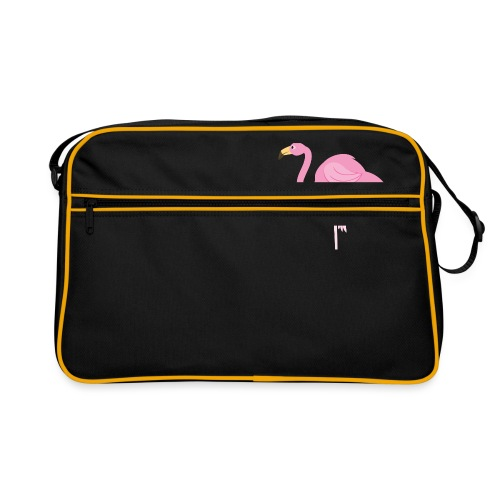 Flamingo - Retro-tas