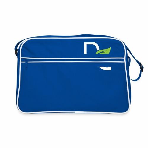 DrGreen Logo Symbol weiss grün - Retro Tasche