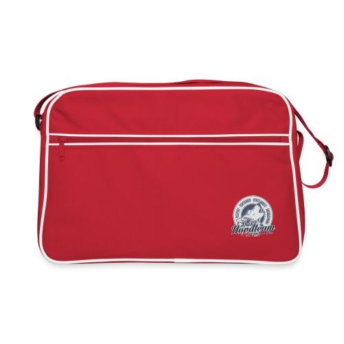 Logo Wolfsrudel - Retro Tasche
