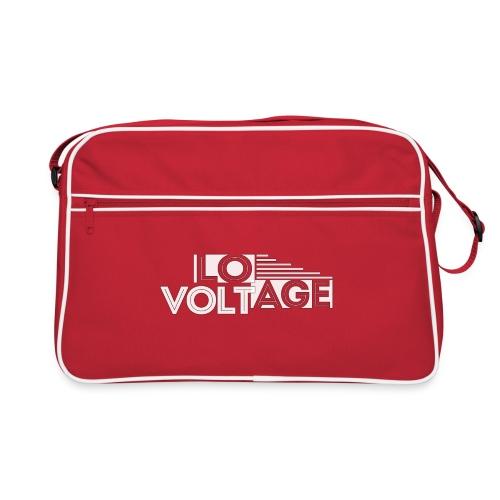 Logo kompakt weiss 1 - Retro Tasche