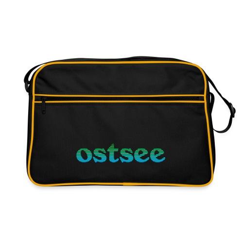 Ostsee Streifen - Retro Tasche