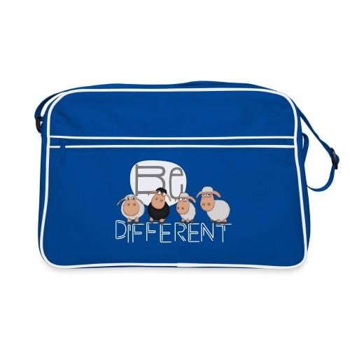 Be different Shirt: Einzigartige Schafe - Retro Tasche