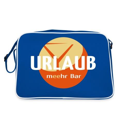 lo urlaub 4c fuerschwarz - Retro Tasche