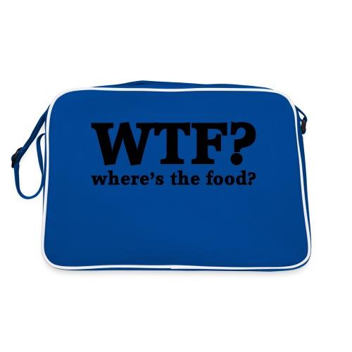 WTF - Where's the food? - Retro-tas
