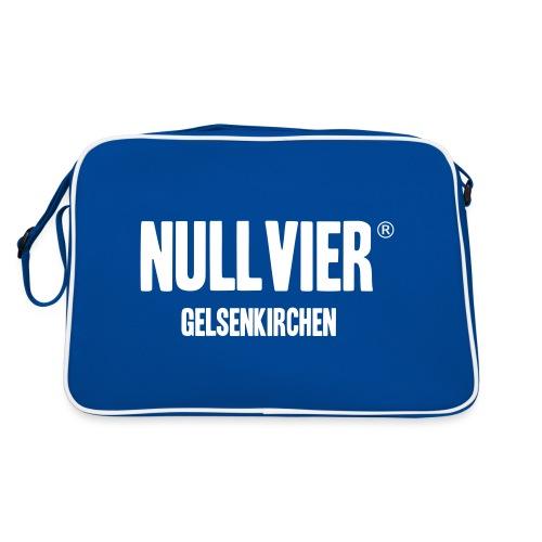 NULLVIER WHITE - Retro Tasche