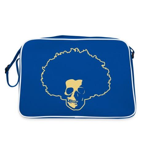 Afro Skull - Retro Tasche