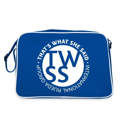 TWSS logo - That's What She Said - International - Retro Tasche