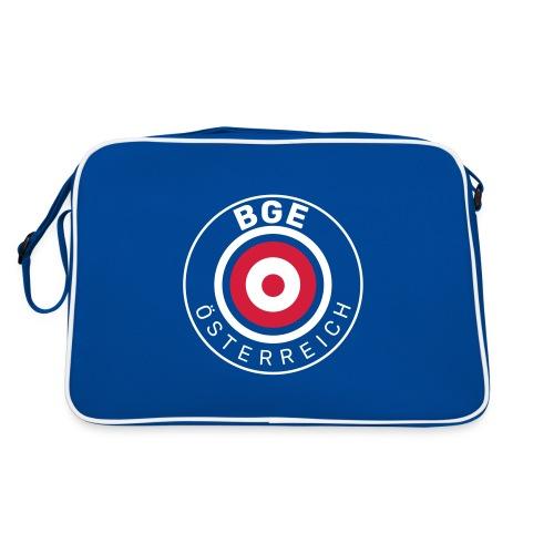 BGE in Österreich mit Fahne - Retro Tasche