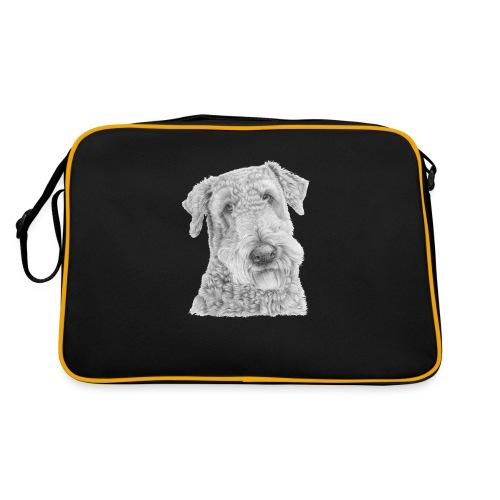 airedale terrier - Retro taske