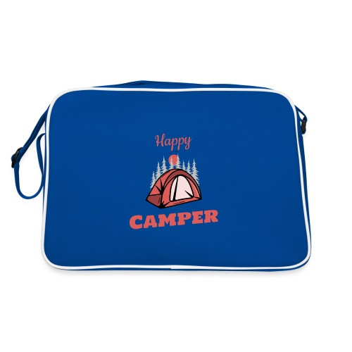 Happy Camper - Retro Tasche
