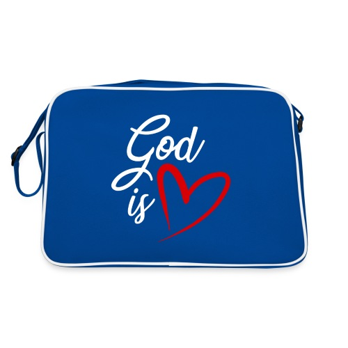 God is love 2B - Borsa retrò