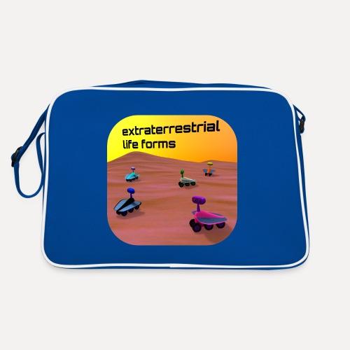 Leben auf dem Mars - Retro Bag